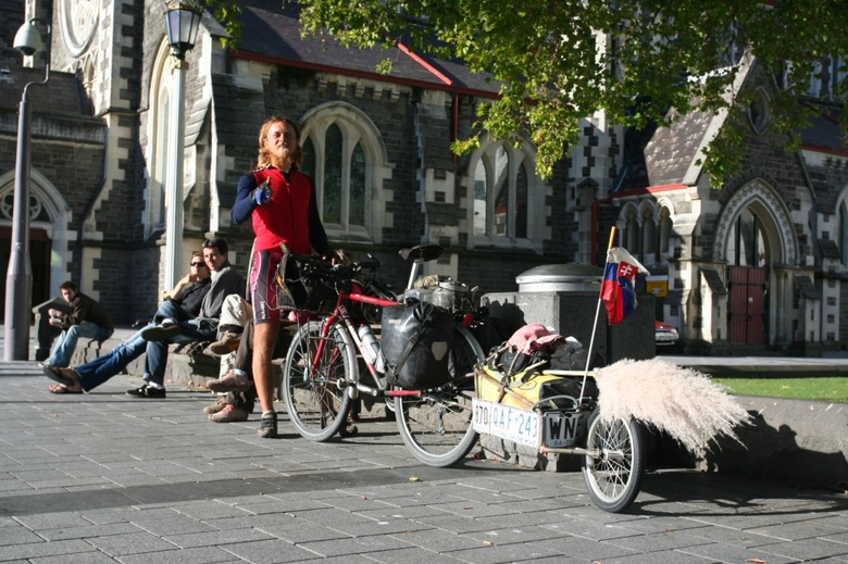 Christchurch - Cathedral Square - 34000 km / 2 years