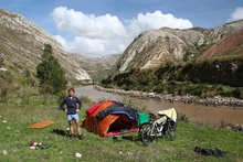 Camping Place in Mantaro Valley