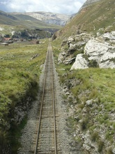 Railway from Lima to La Oroya