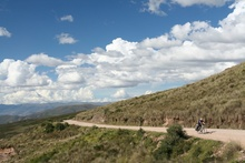 Uphill to the 1st Pass after Ayacucho