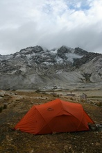 Our Tent on the Pass