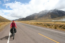 Cycling on Altiplano