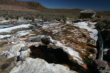 Thermal Pool at Chirigualla (4.400 m)