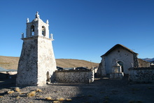 Church in Village Guallatire