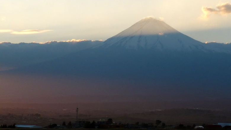 Popocatepetl from Puebla