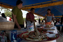 food market in Paraiso