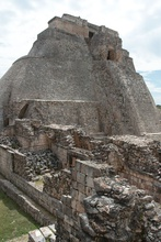 The pyramide of Uxmal