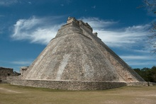 The great pyramide of Uxmal