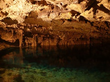 Cenote Chihuan in small village Holca