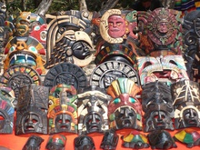 souvenirs at Chichen Itza