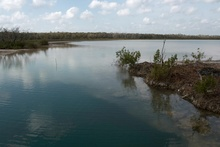 Laguna Ocom with Cenote