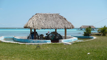 our camping in Bacalar