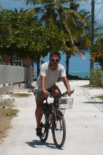 Kybi on Caye Caulker