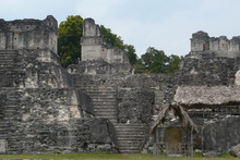 The great Plaza of Tikal