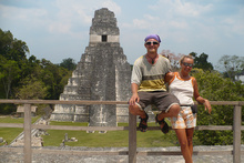 Dasa and Kybi at Tikal