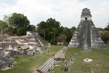 The Great Plaza in Tikal