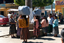 Womens in San Cristobal Verapaz