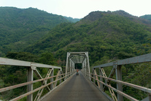 Bridge over Rio Chixoy, Guatemala