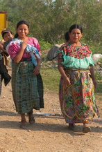 Maya women of the Guatemala's Western Highlands