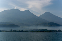 Lago Atitlan and Volcanoes Atitlan and Toliman