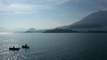 Lago Atitlan in the morning