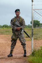 Soldier in Puerto Lempira