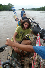 Crossing Rio Coco to Nicaragua