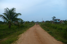 Road going to Waspan