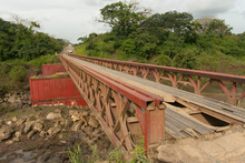 Bridge close to Rio Blanco