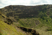 Second crater Volcan Masaya