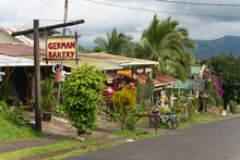 German bakery in Nuevo Arenal, Costa Rica