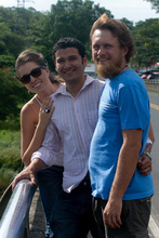 MaFe, Jorge and Kybi, Costa Rica