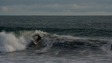 Surfer, Playa Hermosa, Costa Rica