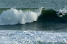 Big waves surfing, Playa Hermosa, Costa Rica
