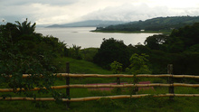 View from the road to LAgo Arenal, Costa Rica