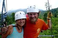 Canopy tour, Ecoglide, Volcan Arenal, Costa Rica