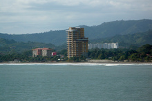 View to Jaco, Costa Rica