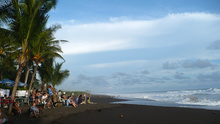 Playa Hermosa before the sunset, Costa Rica
