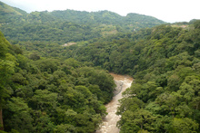 Valley of Rio Grande, Costa Rica