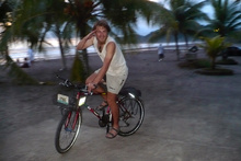 Cycling in Jaco, Costa Rica