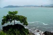 View to Jaco coast, Costa Rica