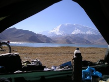 Mustan Ata and Karakulu Lake